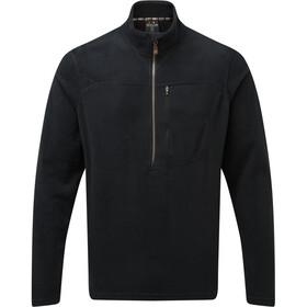 Sherpa Rolpa Maglietta Con Zip Uomo, nero